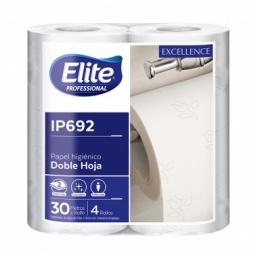 Papel higienico Elite doble hoja Paquete x 4 rollos IP692