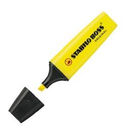 Resaltador Stabilo Boss unidad Amarillo marcador