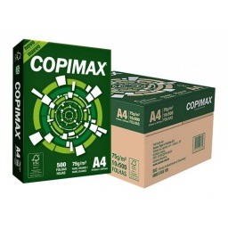 PAPEL DE IMPRESION-FOTOCOPIA COPIMAX A4 500 HJ.