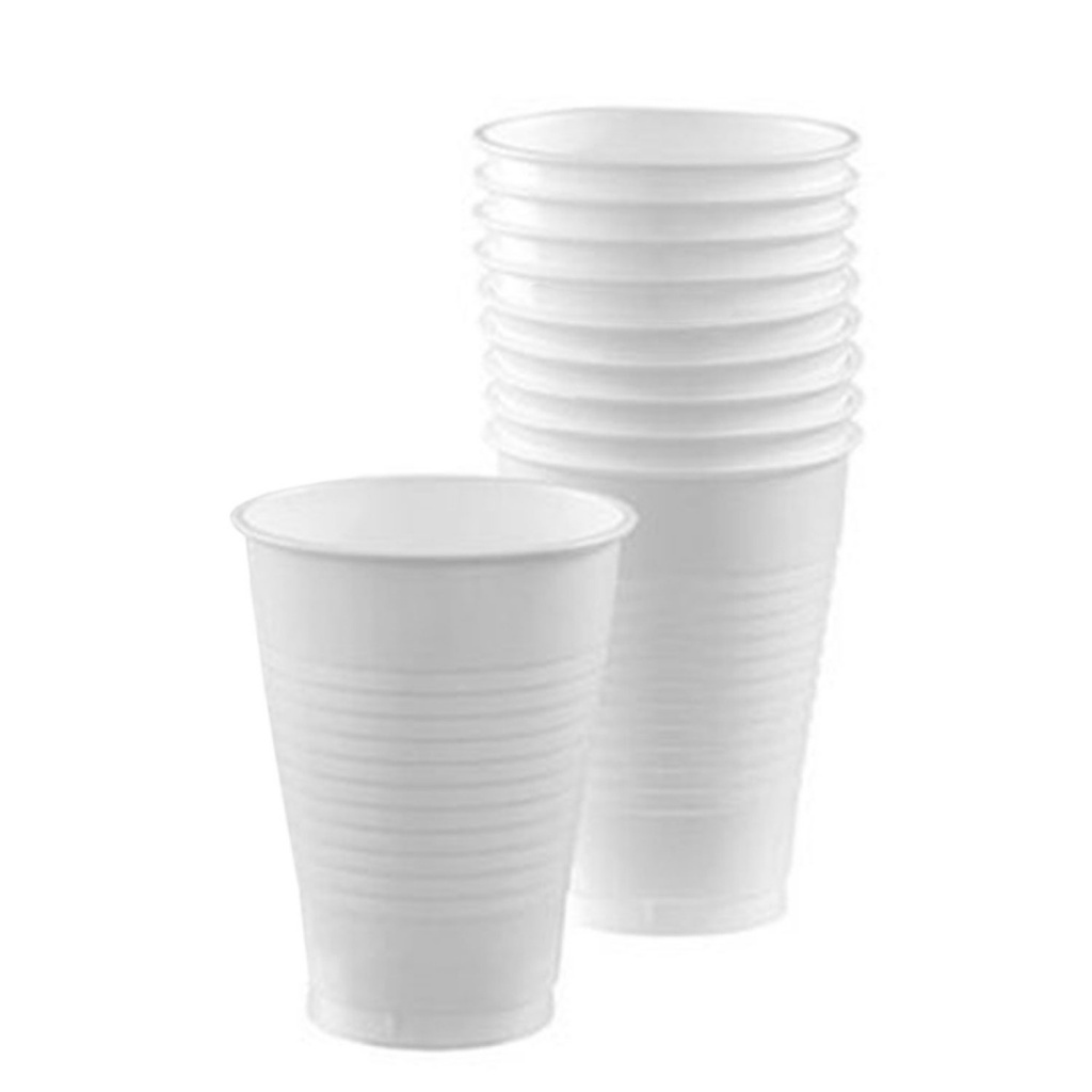 Vaso de Agua descartable 300cc - pack x 100 -