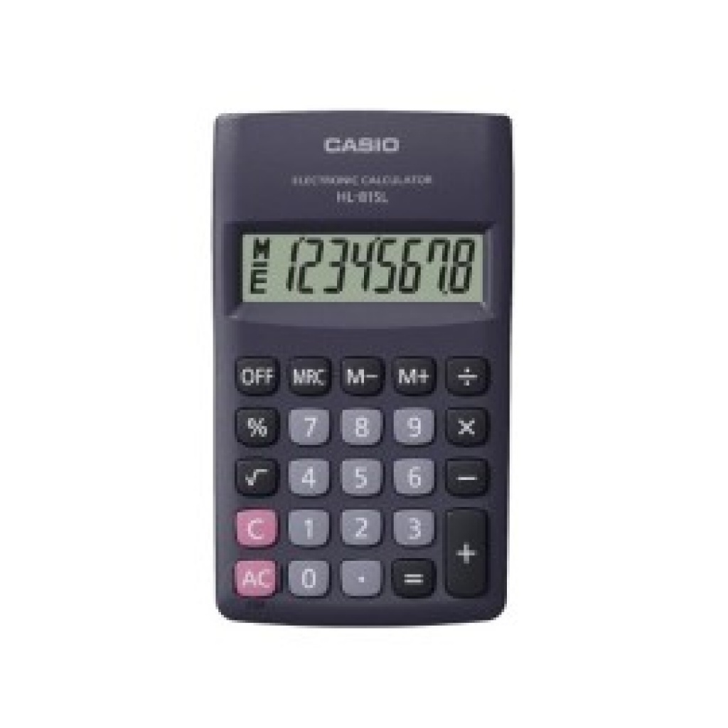 CALCULADORAS CASIO 8 DIGITOS