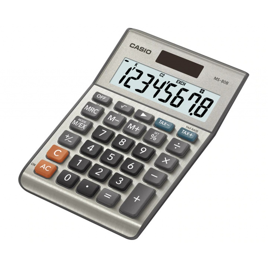 Calculadoras CASIO MS80 B