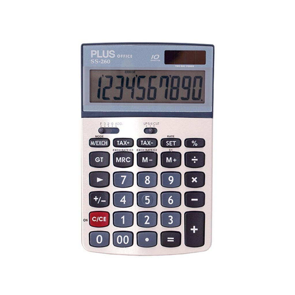 CALCULADORAS PLUS OFFICE SS-260