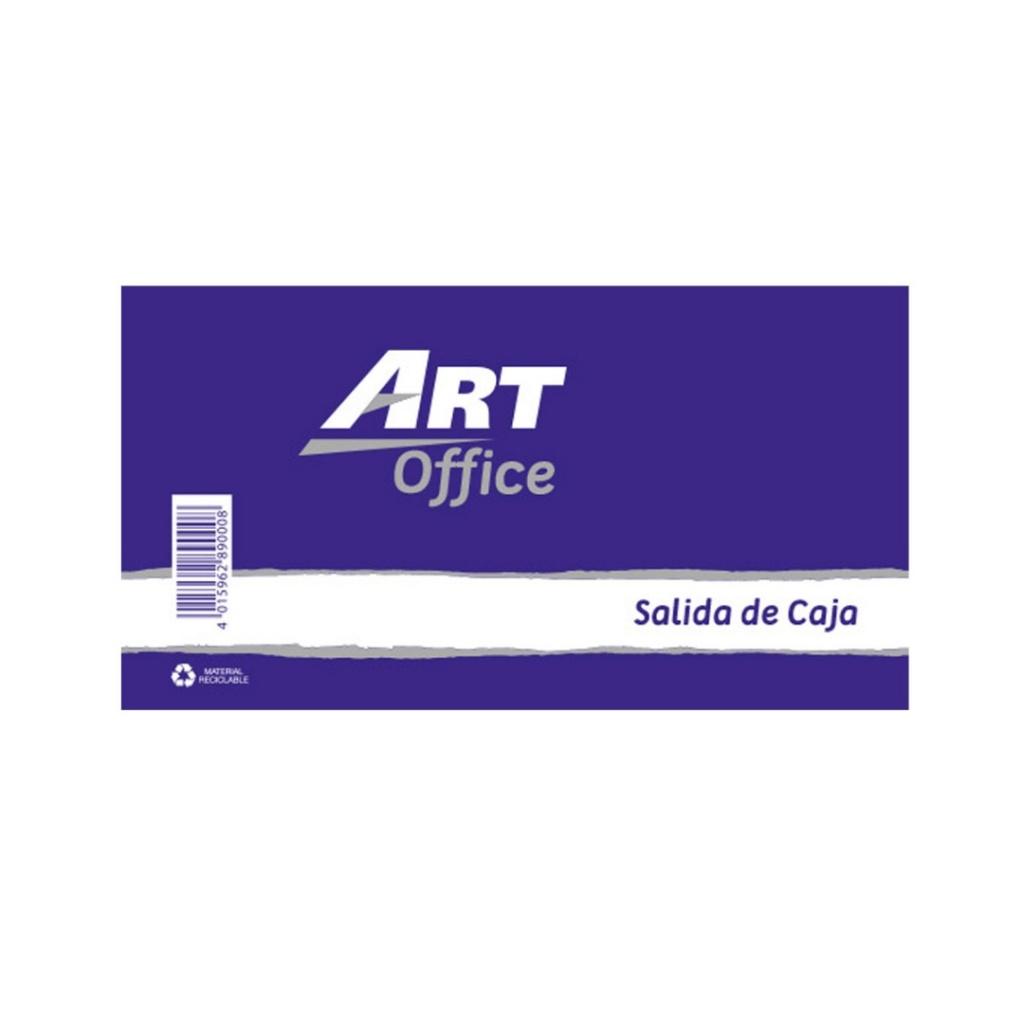 Block salida de caja ArtOffice unidad Libreta