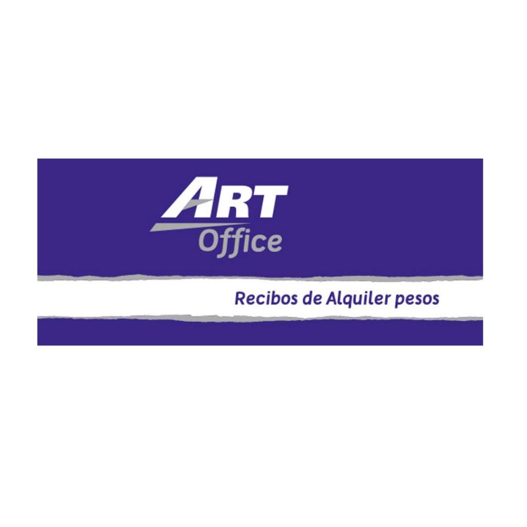Libreta recibo alquiler pesos ArtOffice unidad