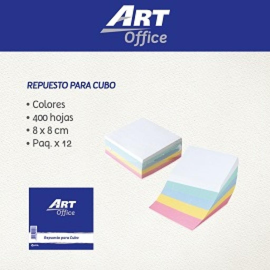 Repuesto para cubo ArtOffice 400 hojas Hojas