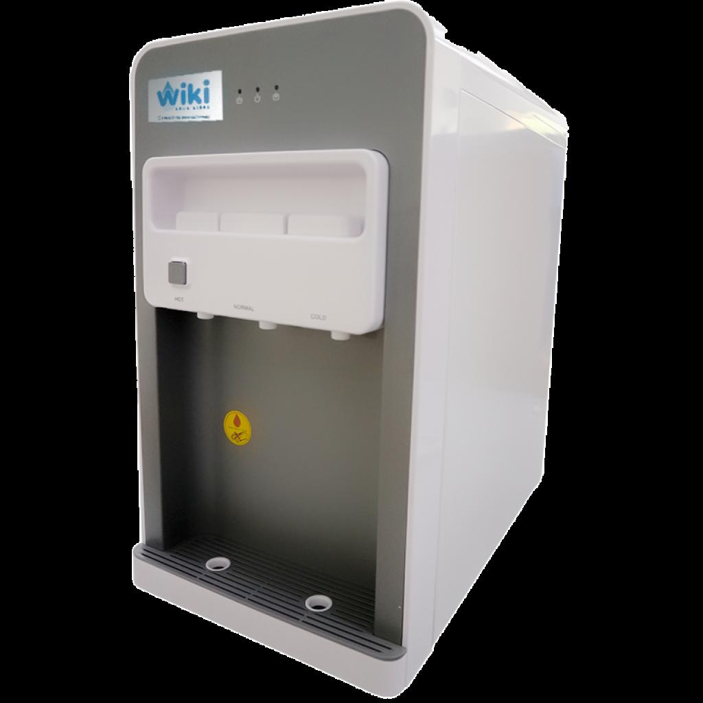 Dispensador purificador de agua de mesada