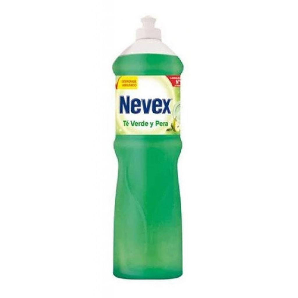 Detergente nevex 1250 cc té verde liquido