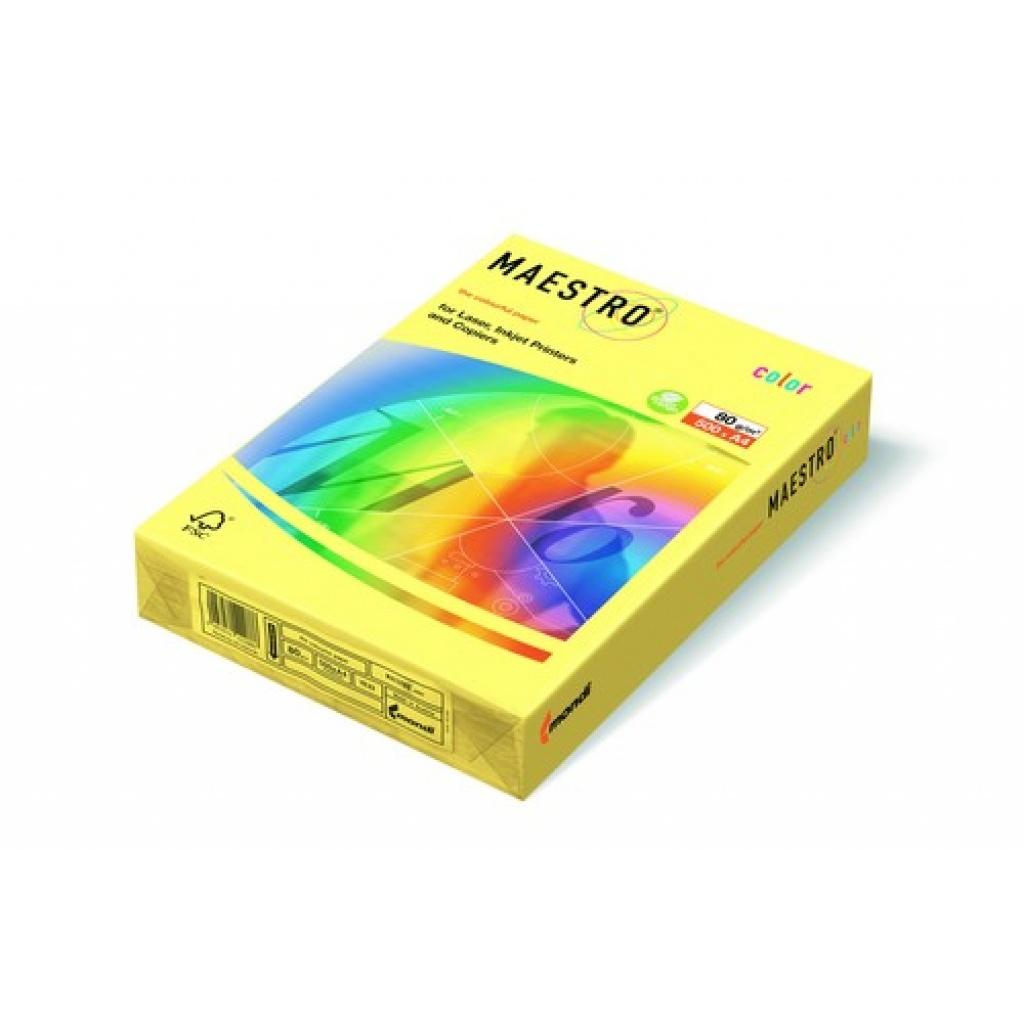 Papel de Impresion Maestro 500 Hojas Amarillo RESMA