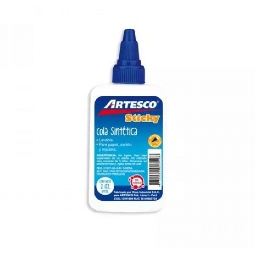 ADHESIVO ARTESCO ESCOLAR 60 ML.