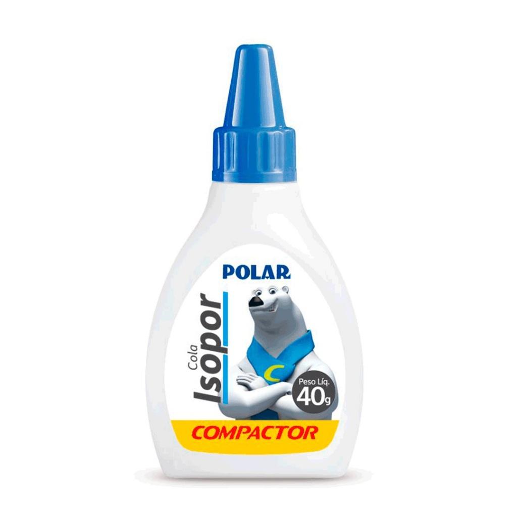 Adhesivo cola compactor unidad 40 grs escolar blanco