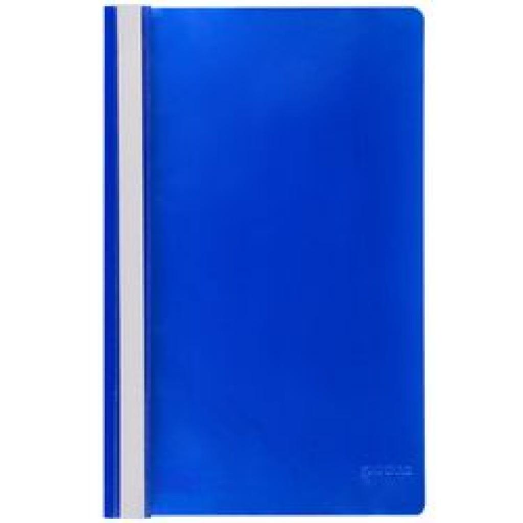 Carpeta A4 tapa transparente - unidad azul