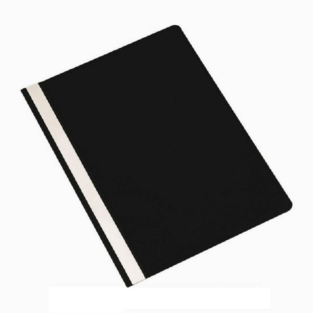 Carpeta A4 tapa transparente - unidad negro