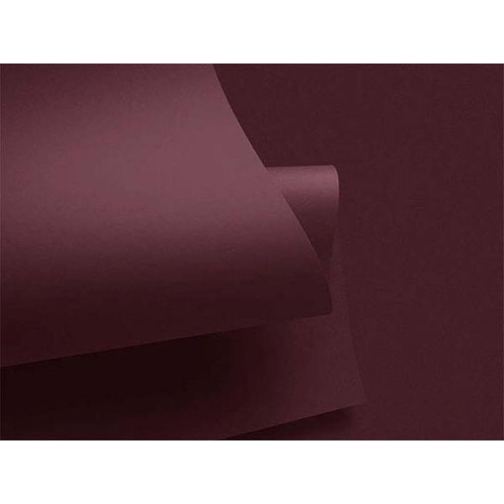 Cartulina Grande    Colores Fuertes    50x70 cm    x 10 hojas    Color Vino