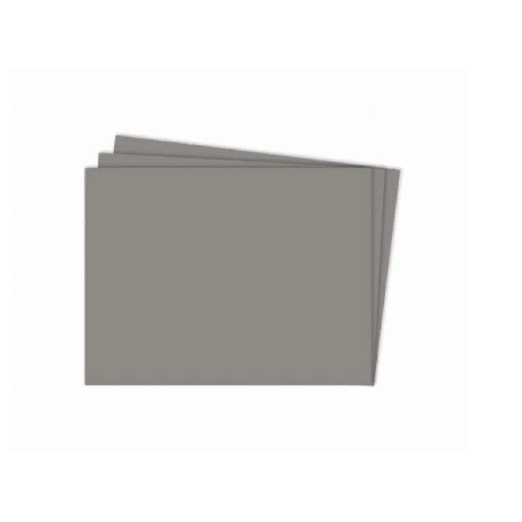 Cartulina Grande    Colores Fuertes    50x70 cm    x 10 hojas    Gris medio