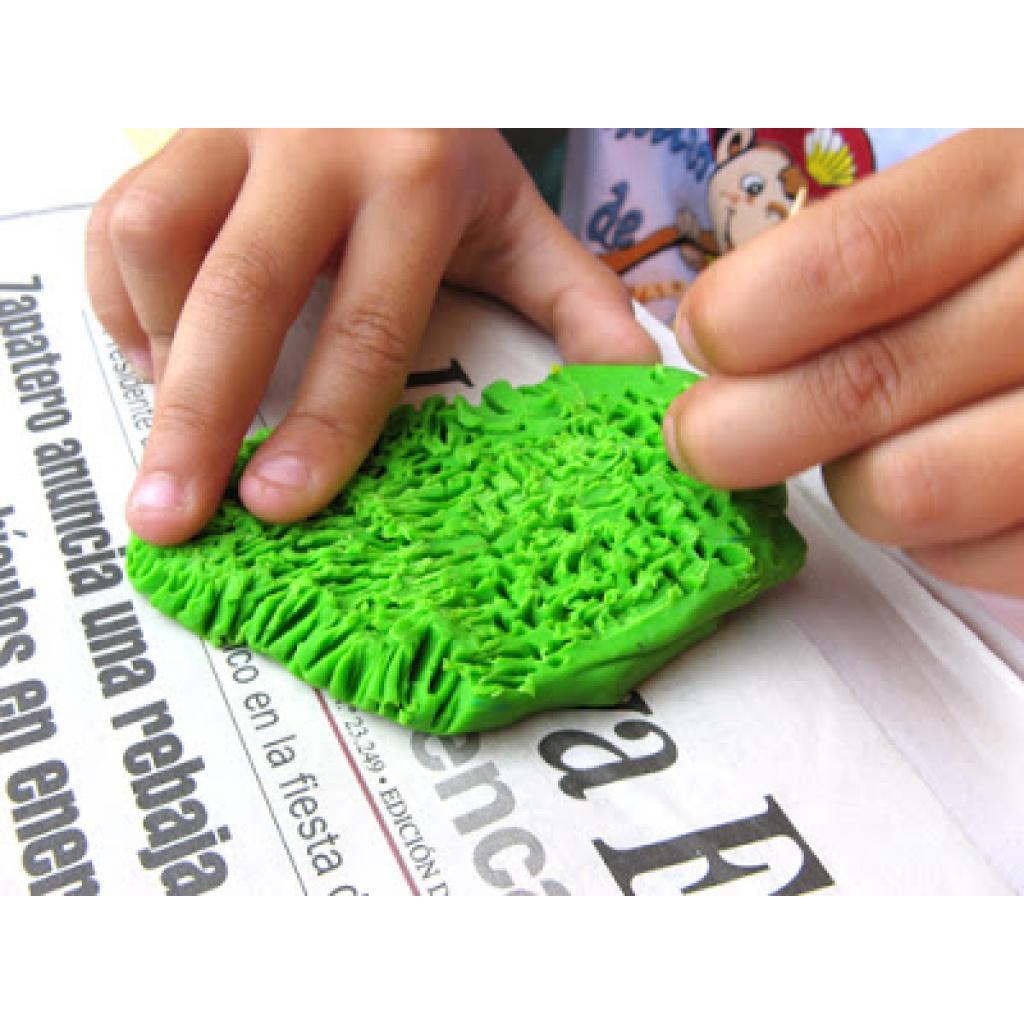 Ceramica Artesco en frío unidad 250 gr. verde