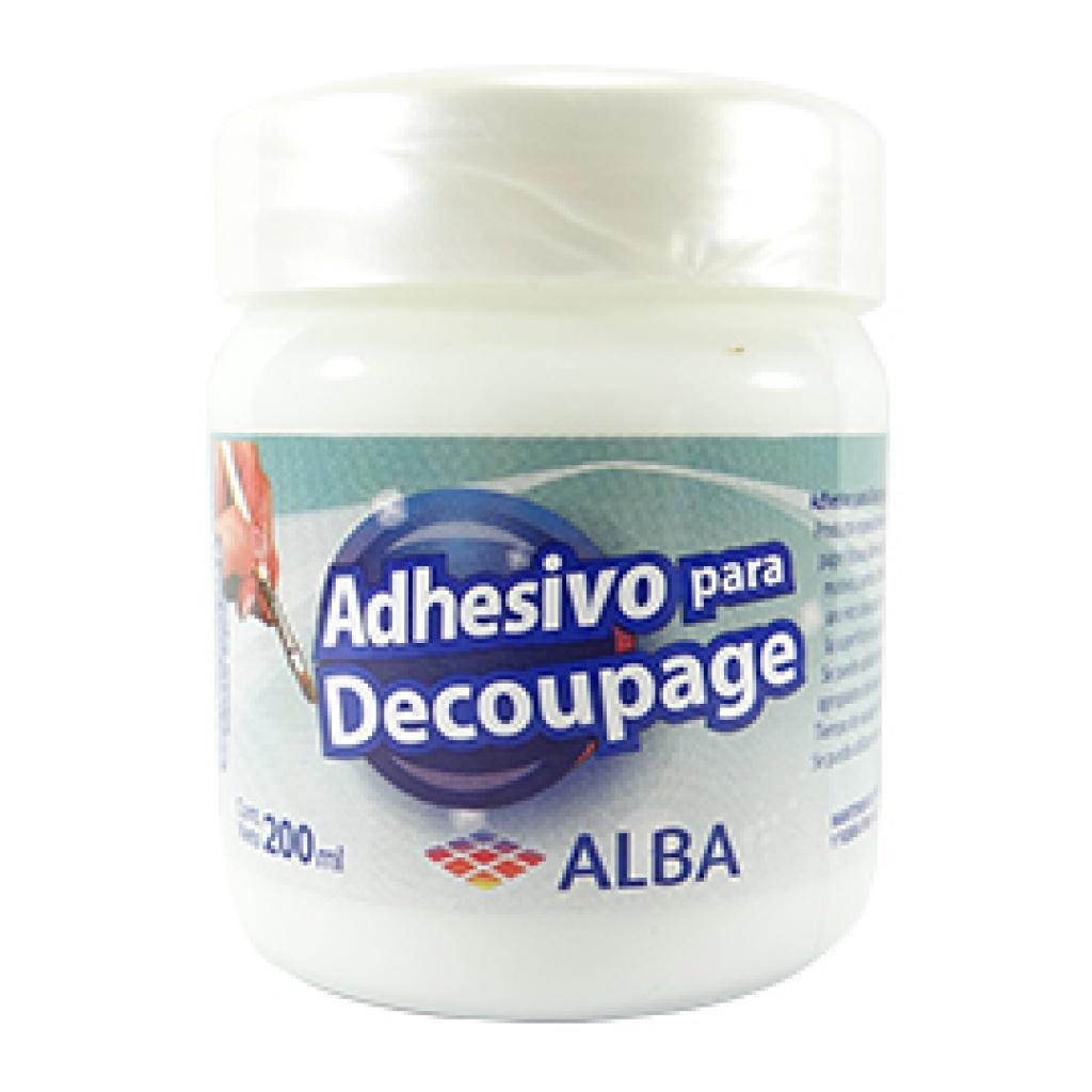 Adhesivo decoupage y transferencia Alba 200 grs