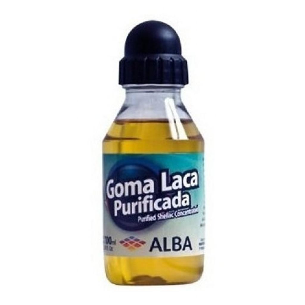 Goma laca Alba artesanal unidad 100ml