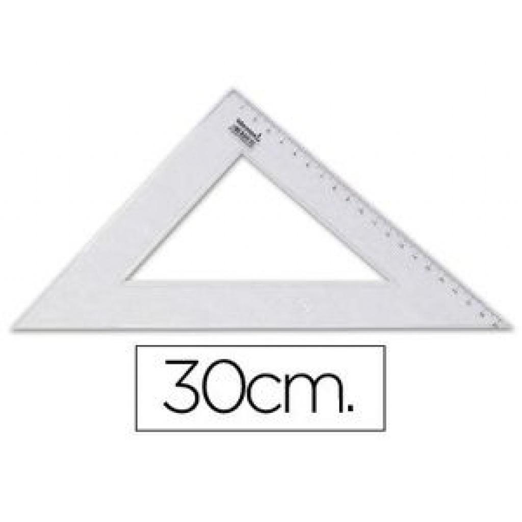 Escuadra técnica Artesco 45° 30 cm