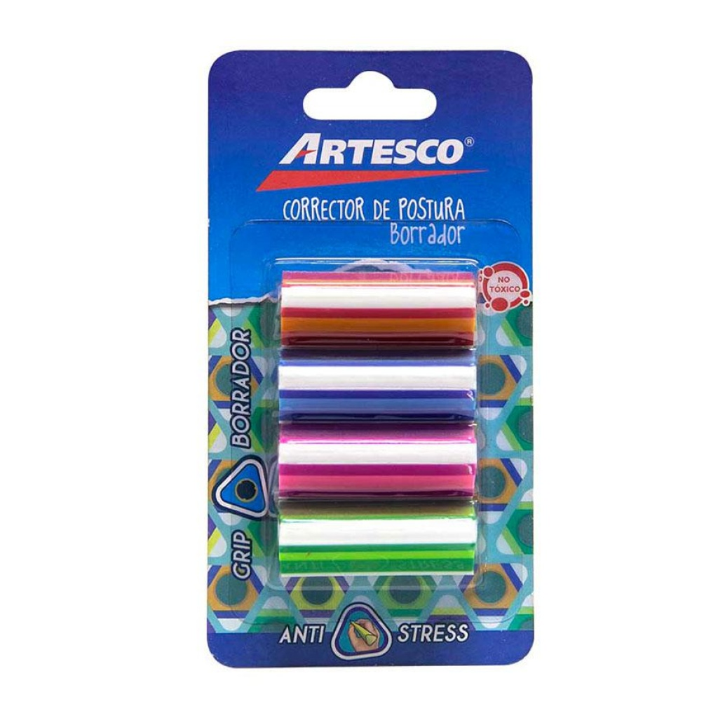 Corrector de postura para lápiz Artesco 24 unidades