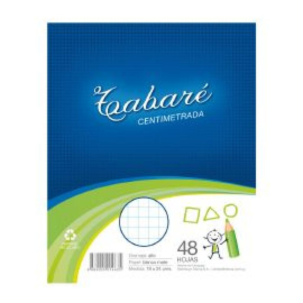 Hojas de deberes Tabare Paquete x 48 Centimetrada PACK