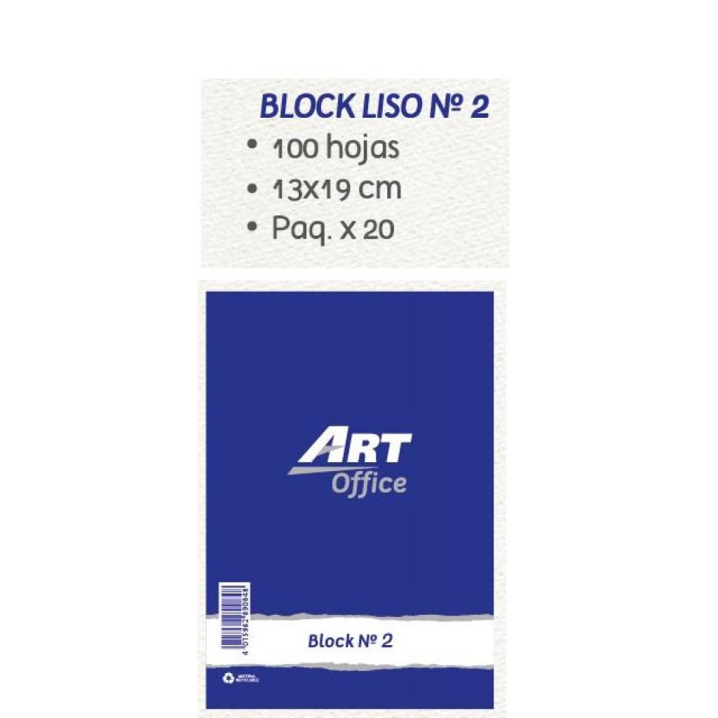 Block de apuntes ArtOffice unidad 13x19cm Hojas