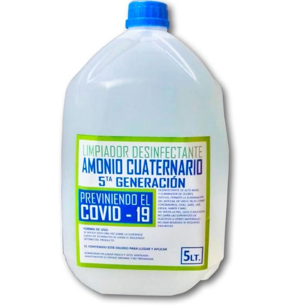 AMONIO CUATERNARIO 5TA. GENERACION BIDON X 5 LT
