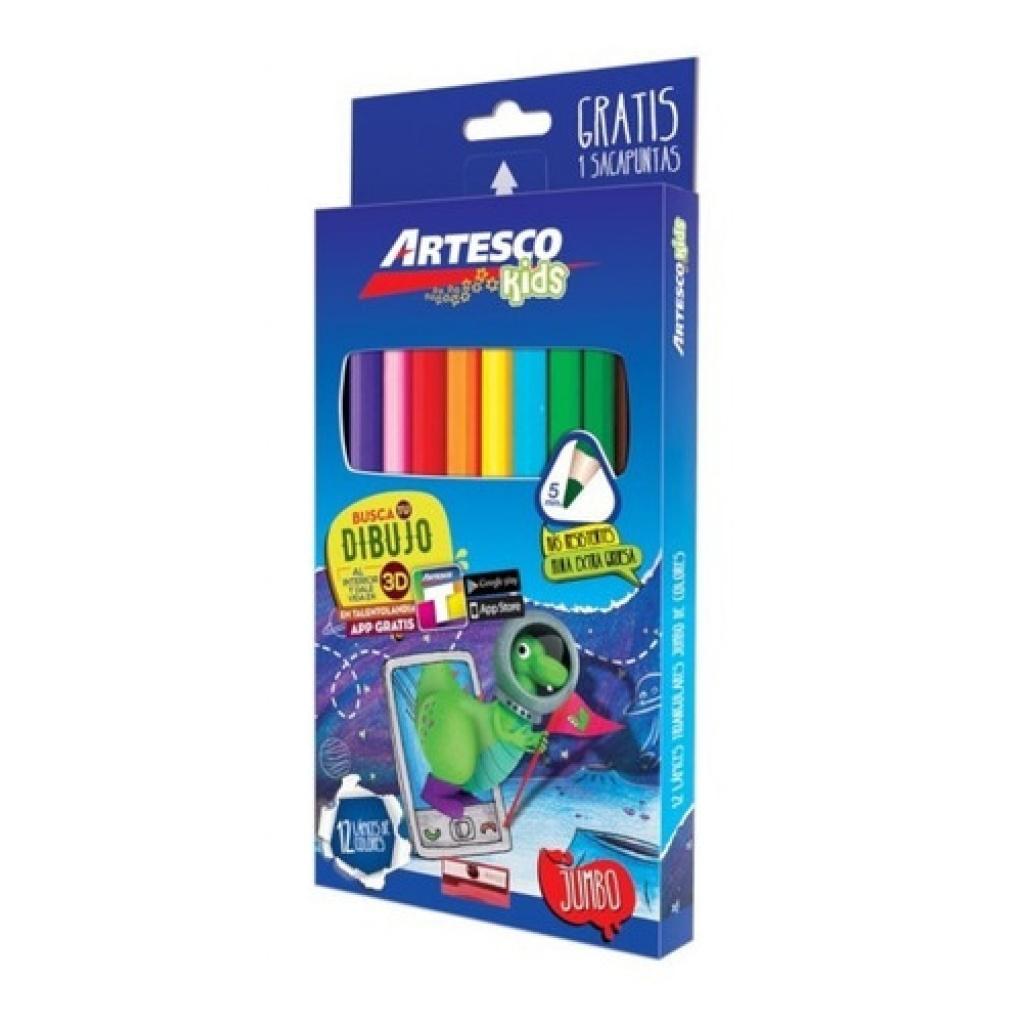 Lapices de colores Artesco madera 4 mm Caja x 12 4mm