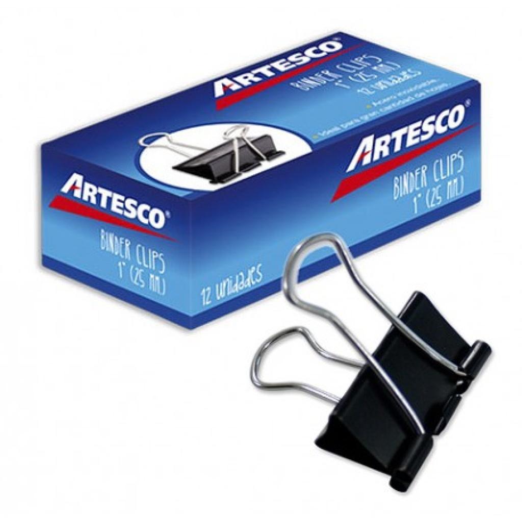 Aprieta papel Artesco caja x 12 25mm Doble Clip