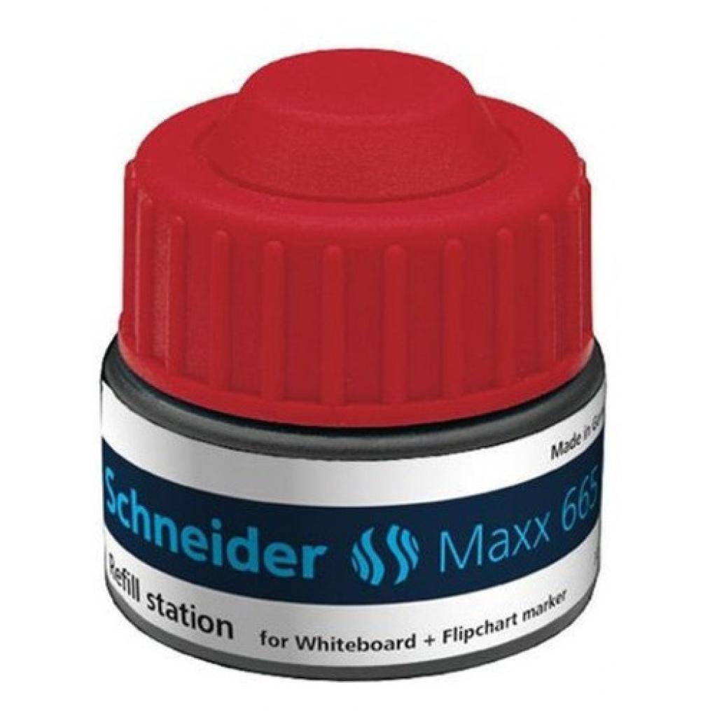 Tinta en frasco Marcador Pizarra Schneider 30ml. Azul