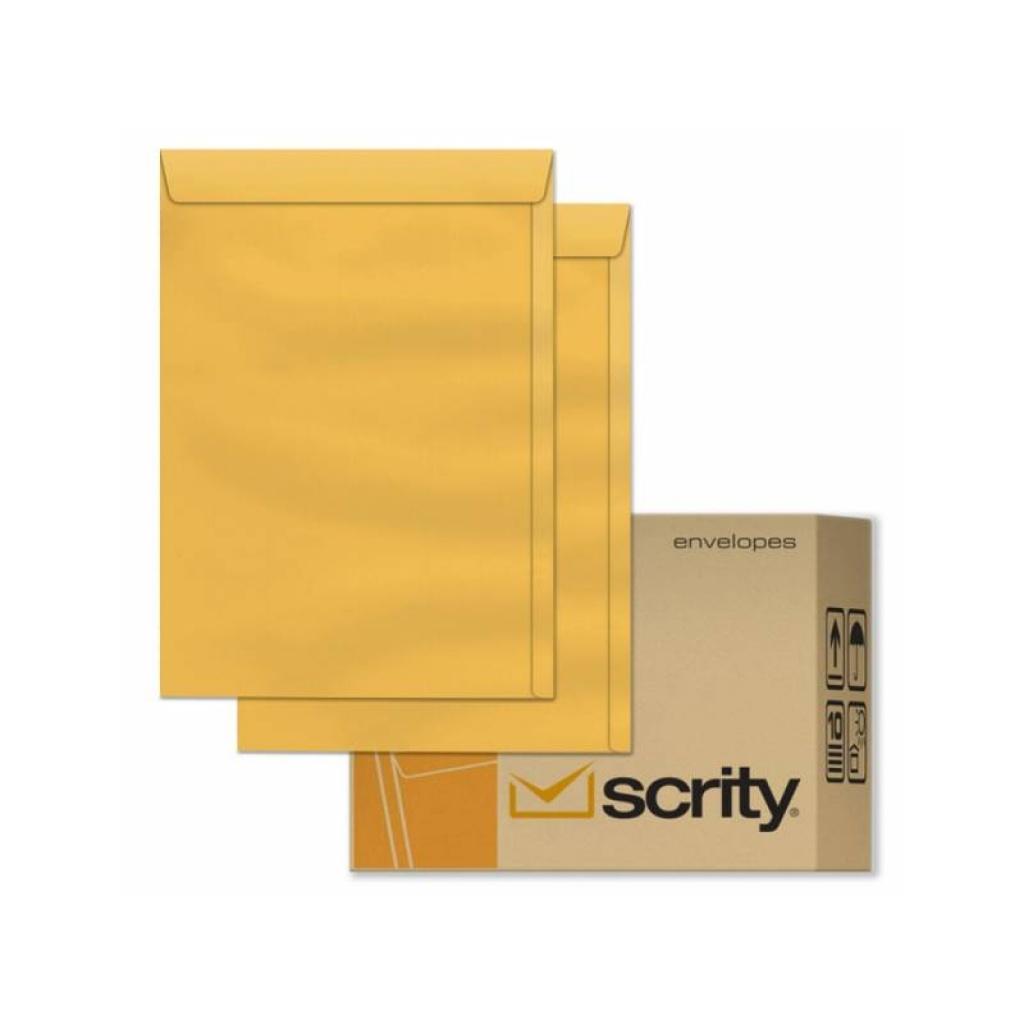 Sobre Oro Paquete x 50 A4 23x32 cm