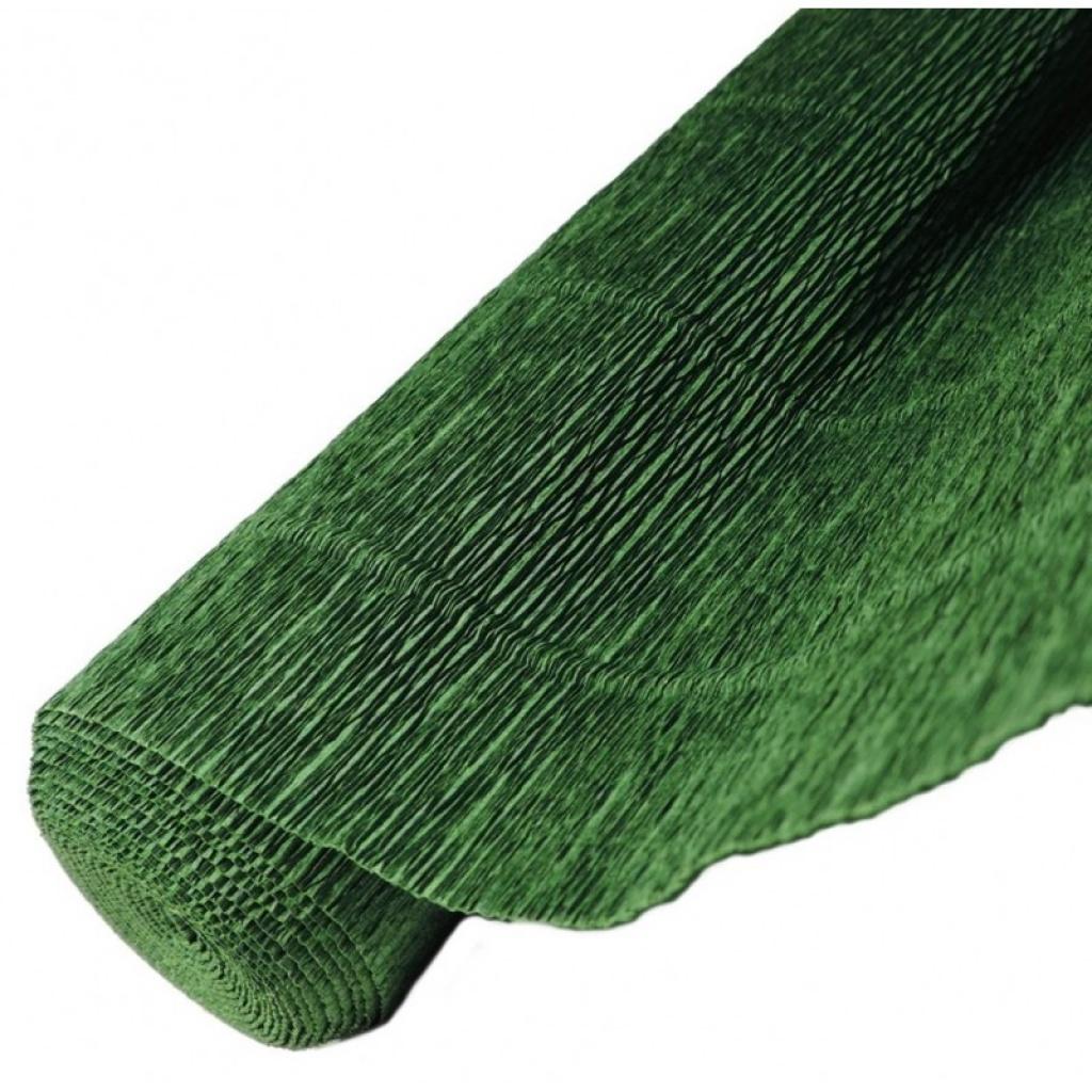 Papel crepe - blister 2 hojas verde