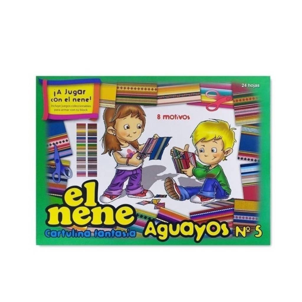 Block El Nene Aguayos A4 24 hojas