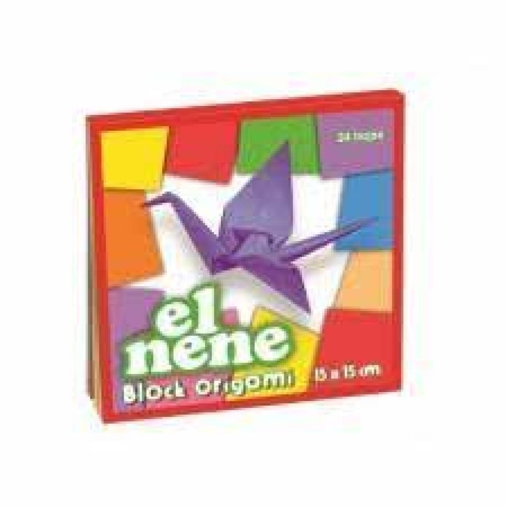 Block origami el nene 24 hojas 15x15cm
