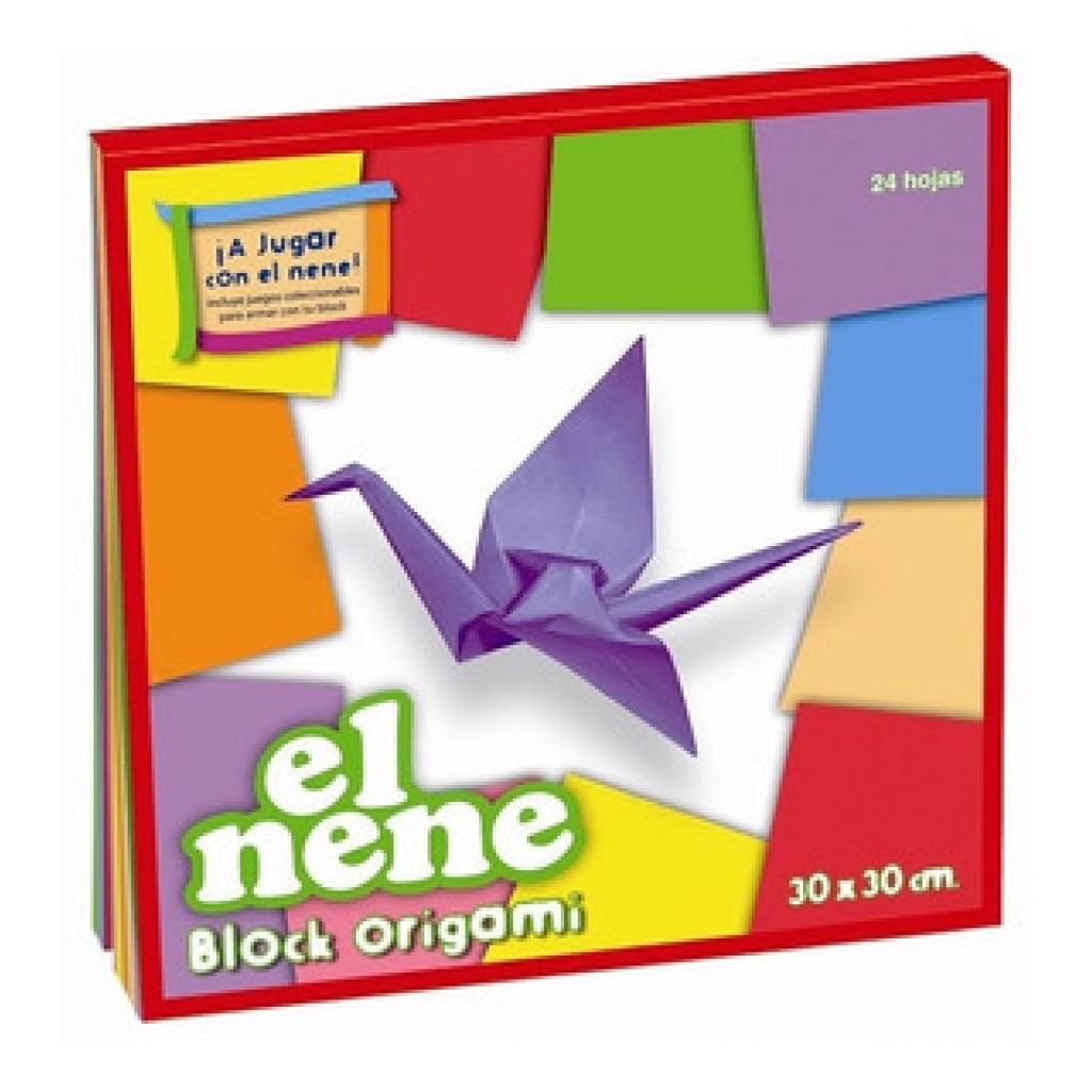 Block origami el nene 24 hojas 30x30cm