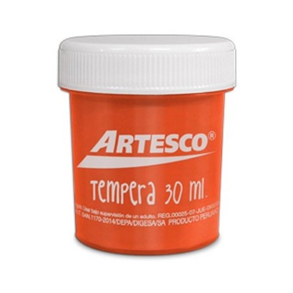 TEMPERA ARTESCO 30ML. NARANJA