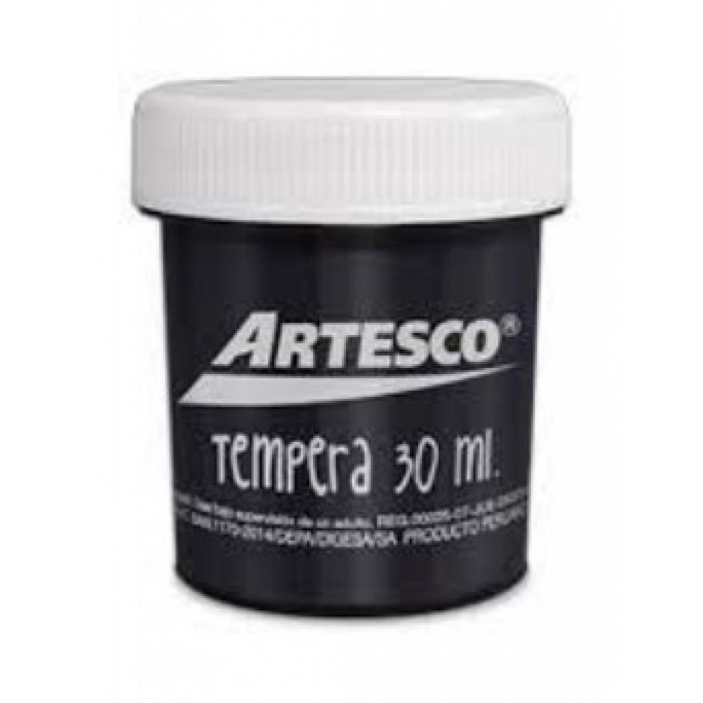 TEMPERA ARTESCO 30ML. NEGRO