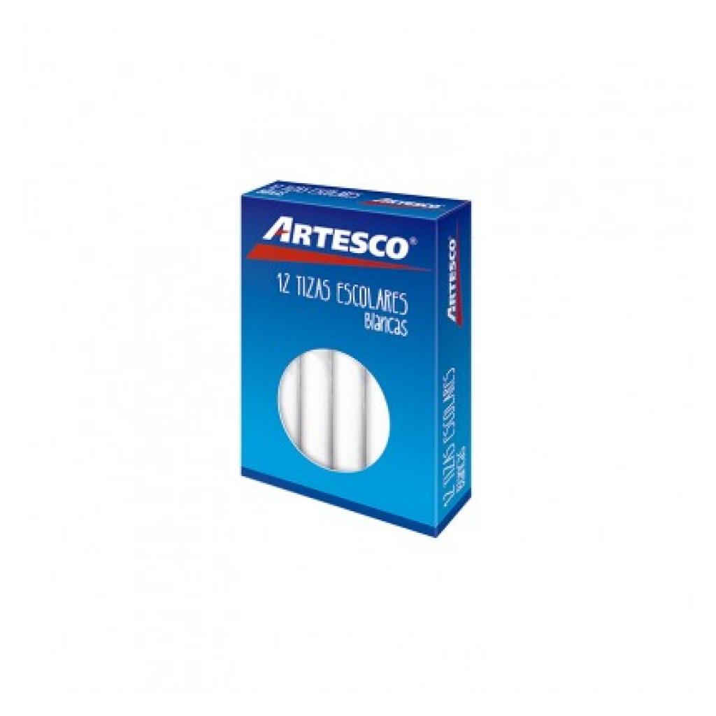 Tizas Artesco caja x 12 blancas Para pizarron Pack