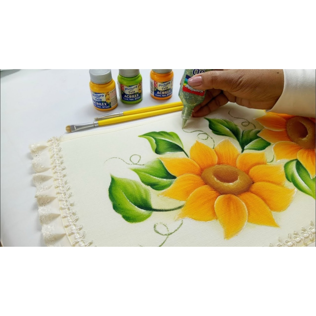 Pintura para tela Acrilex 37ml. 860 VERDE PANTANO