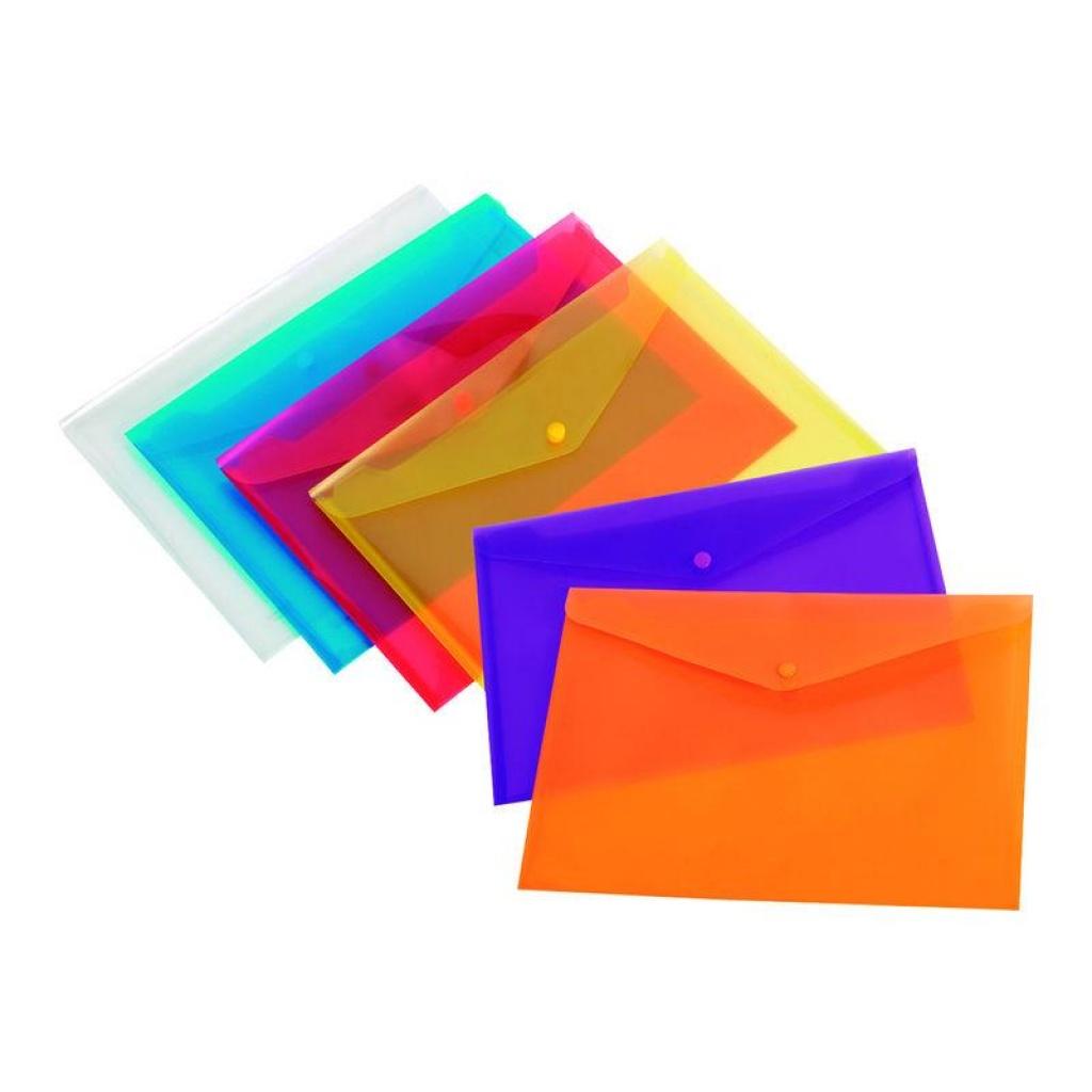 Sobre con broche A5 Horizontal Paquete x 12 Transparente