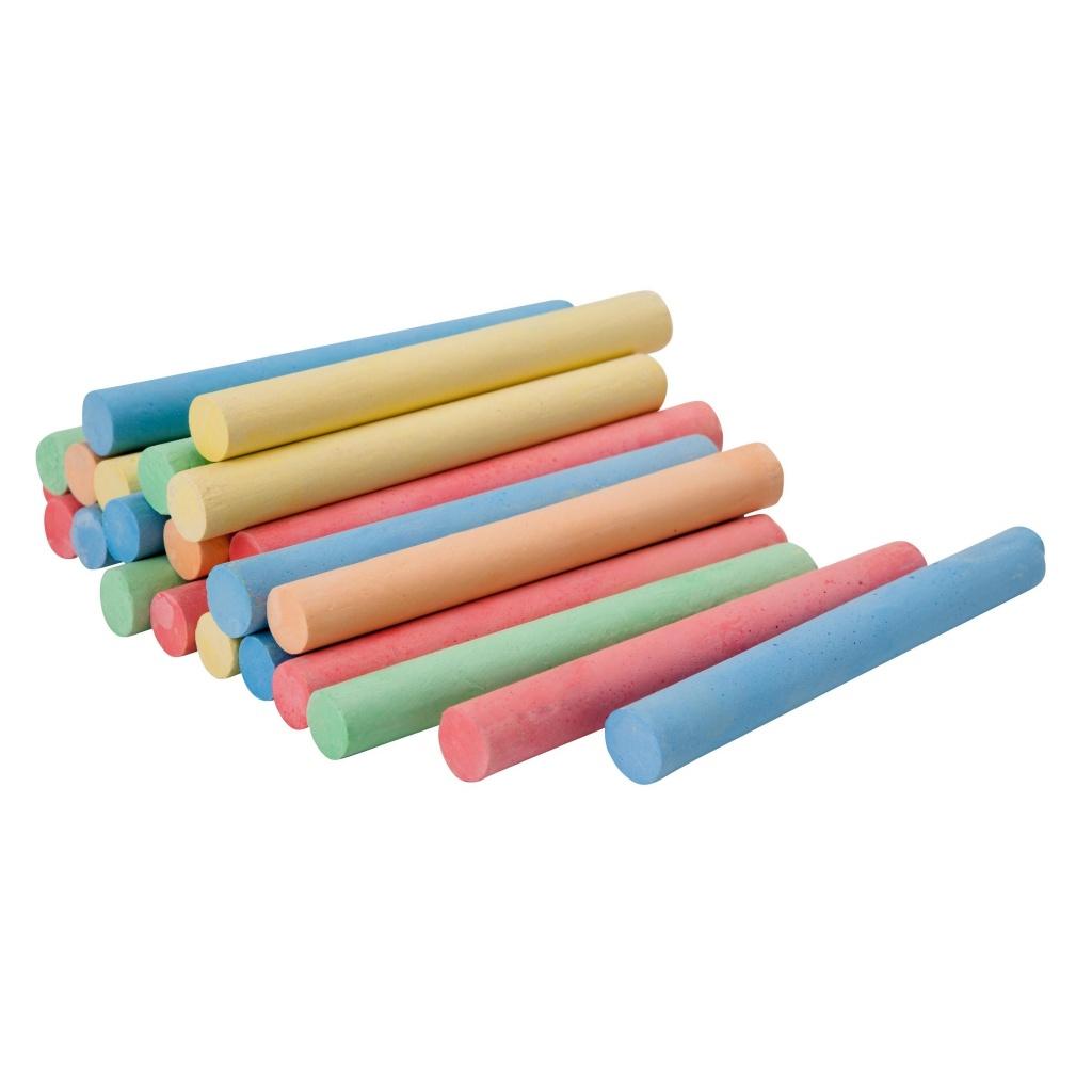 Tiza color caja x 100 unidades PIZARRA PIZARRON