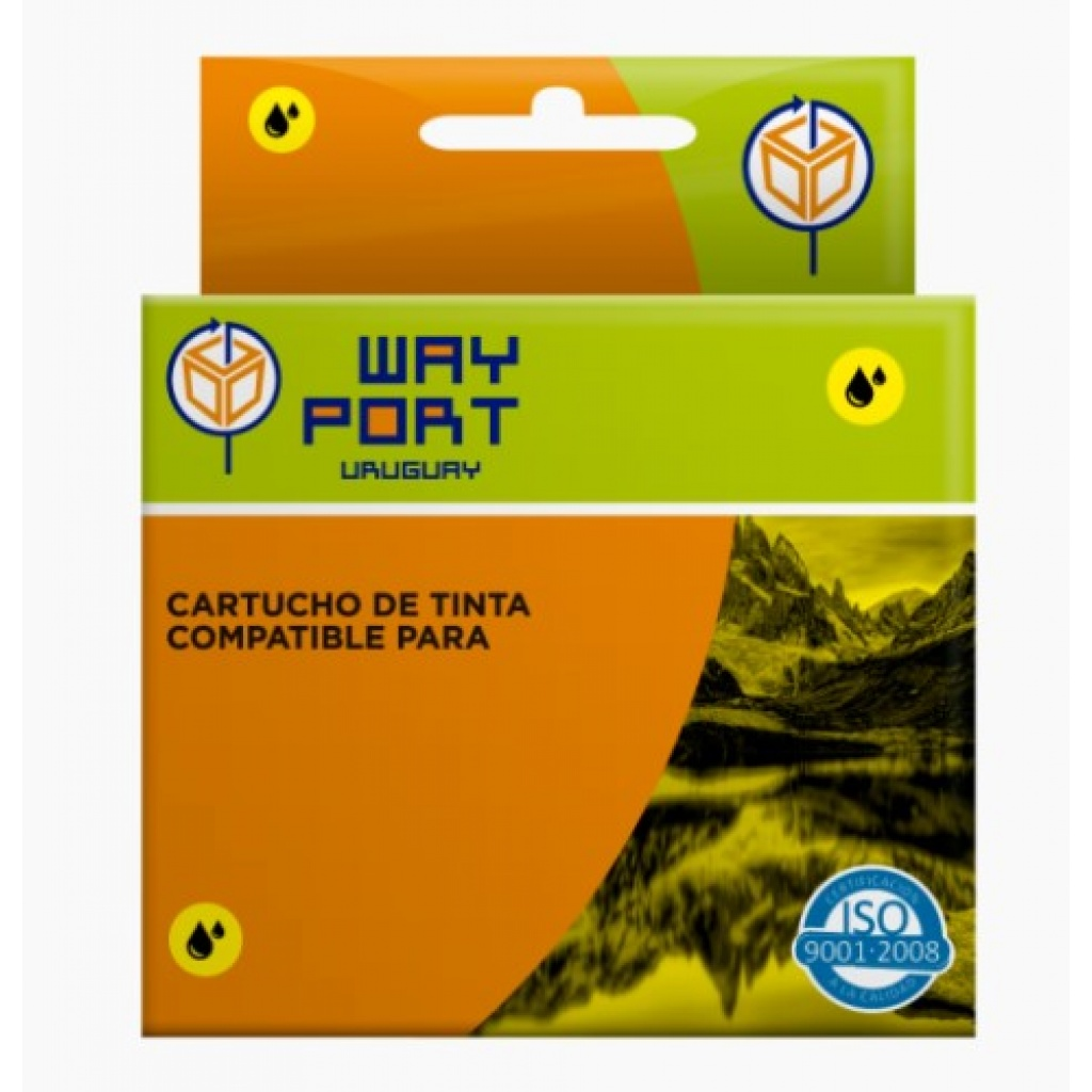 CART. WAYPORT YELLOW P/BROTHER LC39/LC60/LC985 DCP-J125 / DCP-J140W / DCP-J315W / DCP-J515W / MFC-J2