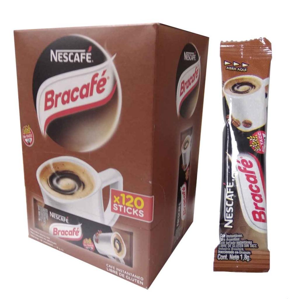 Cafe stick sobrecito Bracafe Caja x 120