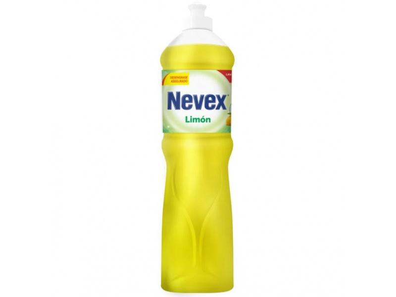 Detergente nevex 1250 cc limón liquido
