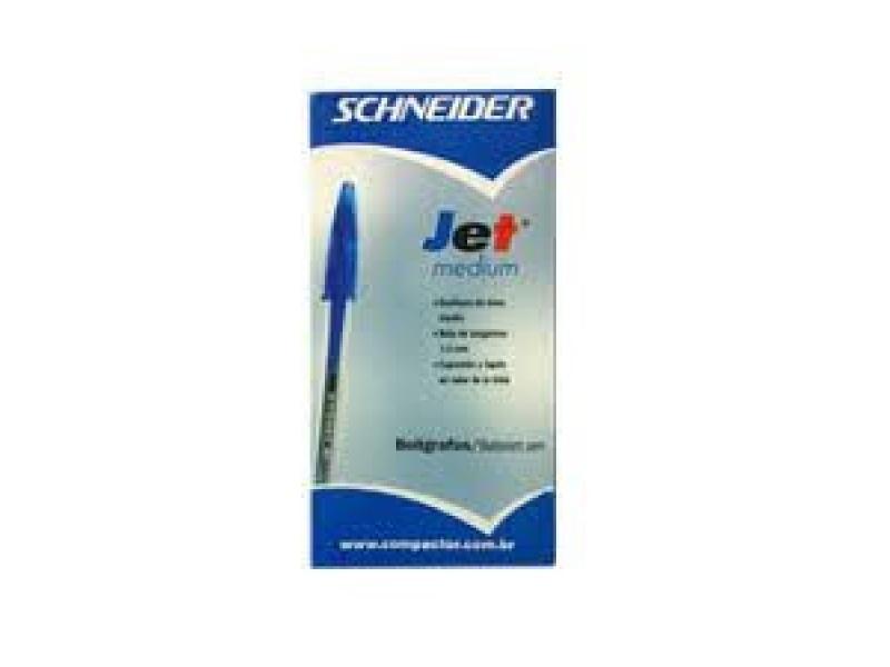 Boligrafo Schneider Jet unidad Azul lapicera