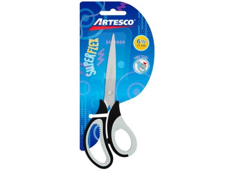 """Tijera Artesco super flex 6.5"""" unidad 16 Cm."""