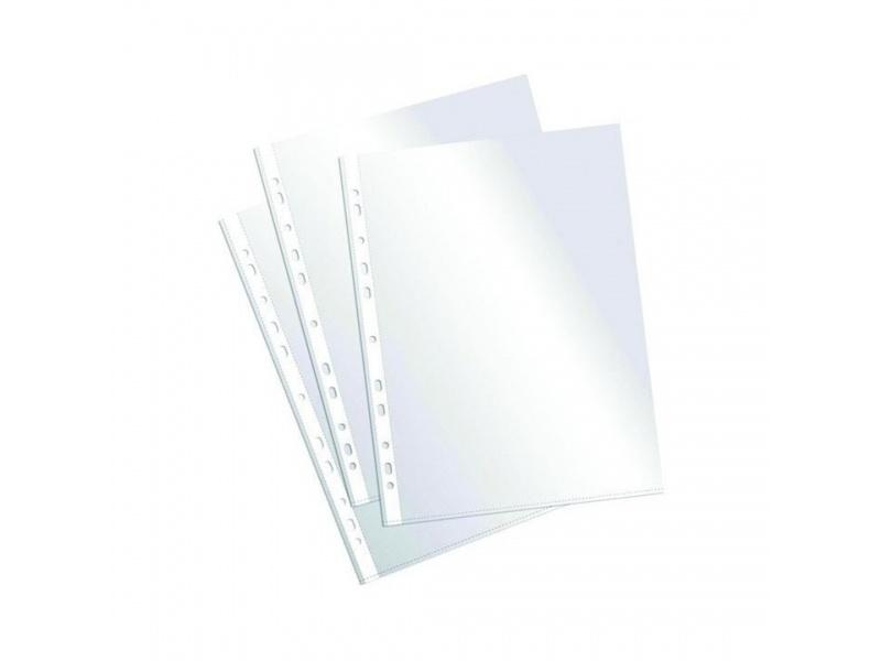 Fundas protectoras - folios A4 Paquete x 10 50 mic.